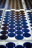 Close-up of Photovoltaic Solar Panels Stock Photos