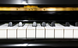 Close up of piano Royalty Free Stock Image