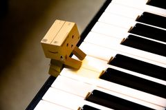 Close Up of Piano Royalty Free Stock Images