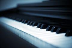 Close up piano key Royalty Free Stock Photography