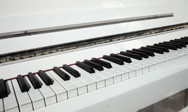 Close up piano key Stock Photo