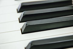Close-up of Piano Keyboard centred on Ab with plenty of white sp. Ace Stock Photos