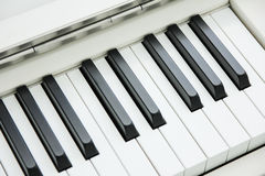 Close-up of Piano Keyboard centred on Ab with plenty of white sp. Ace Stock Image