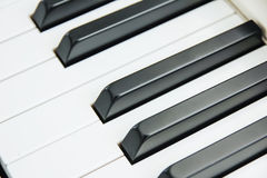 Close-up of Piano Keyboard centred on Ab with plenty of white sp. Ace Royalty Free Stock Image