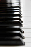 Close up of piano keys Stock Photography