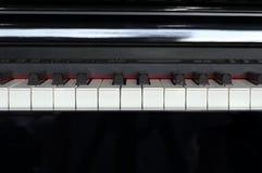 Close-up of piano keys Stock Photos
