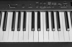 Close-up of piano keys Stock Image