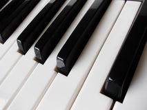 Close up of piano keys Stock Photo