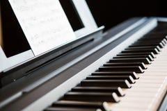 Close-up of piano keys Royalty Free Stock Image