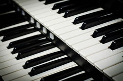 Close up of piano keys Stock Image