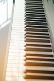 Close up of Piano keys Stock Image