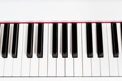 Close up piano keys Stock Image