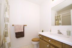 Close up picture of a Bathroom Interior Royalty Free Stock Photography