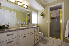 Close up picture of a Bathroom Interior Stock Image