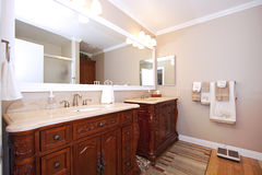 Close up picture of a Bathroom Interior Royalty Free Stock Images