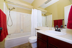 Close up picture of a Bathroom Interior Stock Photos