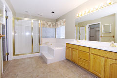 Close up picture of a Bathroom Interior Stock Images