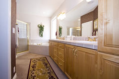 Close up picture of a Bathroom Interior Royalty Free Stock Image