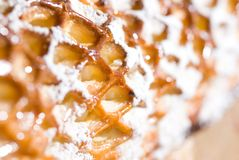 Close up picture of dessert Royalty Free Stock Photos