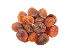 Close up picture of dried organic apricots. Royalty Free Stock Photo