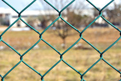 Link fence Stock Image