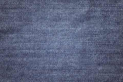 Close up picture of jeans fabric, background or texture Stock Photo