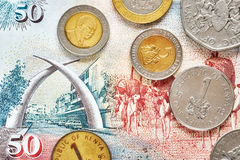 Close up picture of Kenyan shilling Stock Photo