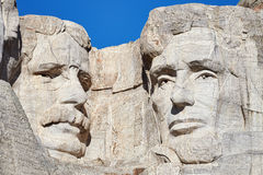 Close up picture of Mount Rushmore National Memorial with Theodo Stock Photography
