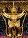 Sclupture of Garuda, Thailand. Close up picture of Sclupture of Garuda, Thailand Stock Photo