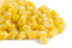 Close-up picture of some juicy sweetcorn Stock Image