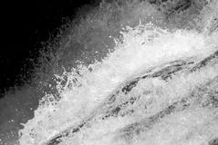 Close up picture of Water stream rapidly. Power of nature royalty free stock photos