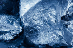 Close-up pieces of ice Stock Photography