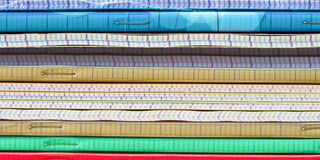 Close up of a pile of notebooks Stock Photography