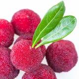 Close up of pile of wax berry Stock Photos