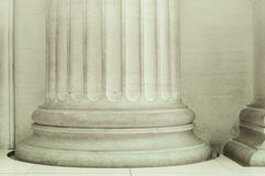 Close up of a Pillar Royalty Free Stock Images