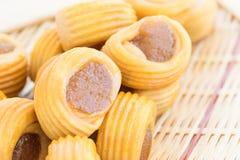 Close up Pineapple pie Stock Photos