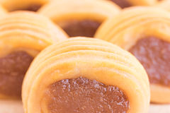 Close up Pineapple pie Stock Images