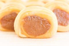 Close up Pineapple pie Stock Image