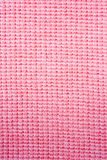Close-up pink  fabric textile texture Stock Photography