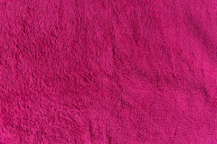 Close up pink fleece texture. Background Royalty Free Stock Image