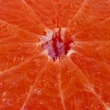 Close-up pink grapefruit. Closeup of a pink grapefruit Stock Photo