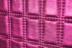 Close Up Pink Leather Background royalty free stock images