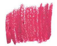 Close up of pink lipstick texture Stock Image