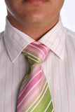 Close  up of pink tie Stock Image