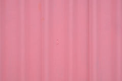 Close up of pink tile roof surface Stock Photography