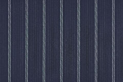 Close up of pinstriped fabric texture background. Stock Photography
