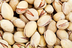 Close up of the pistachios Stock Image