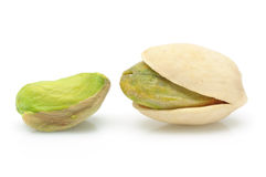 Close up of pistachios nuts Stock Images