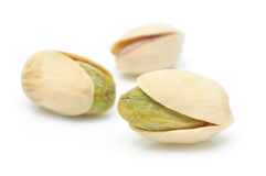 Close up of pistachios nuts Stock Photography
