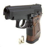 The close up of a pistol Royalty Free Stock Image